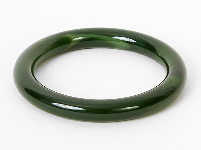 10: Green Jade Bangle