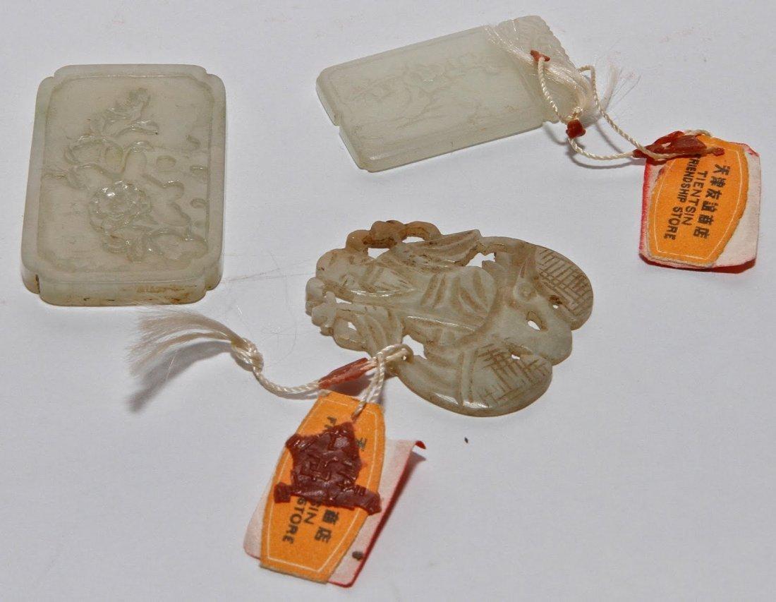 17: Three Jade Pendants