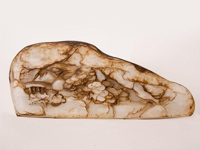 16: White Jade Boulder, Qing Dynasty