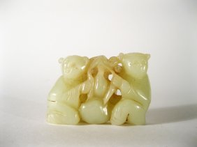 9: Jade carving, Qing Dynasty