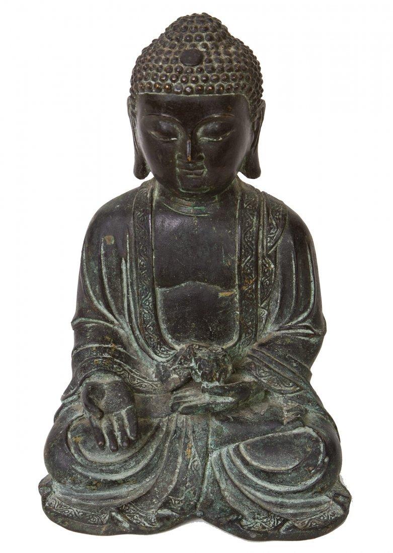 51: Gilt Bronze figure of Bhaisajyaguru, Ming Dynasty
