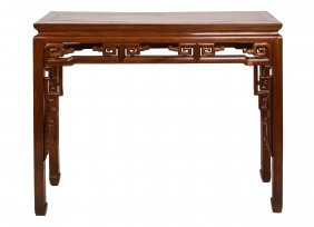 Huanghuali Altar Table - Sothebys Parke-Bernet, 19th C.