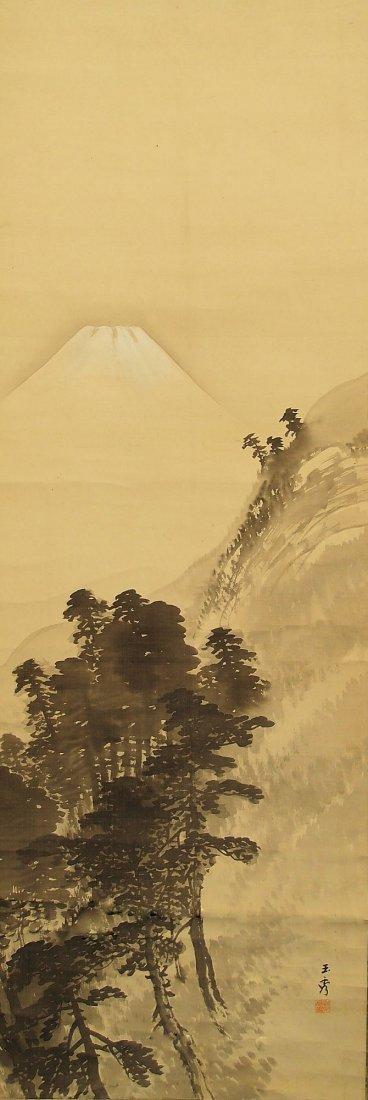 Japanese Painting by Kawabata Gyokushu (1842-1913)