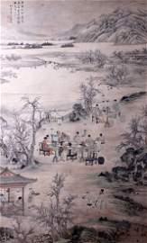 Chinese Painting, attributed Shangguan Zhou (1665-1749)