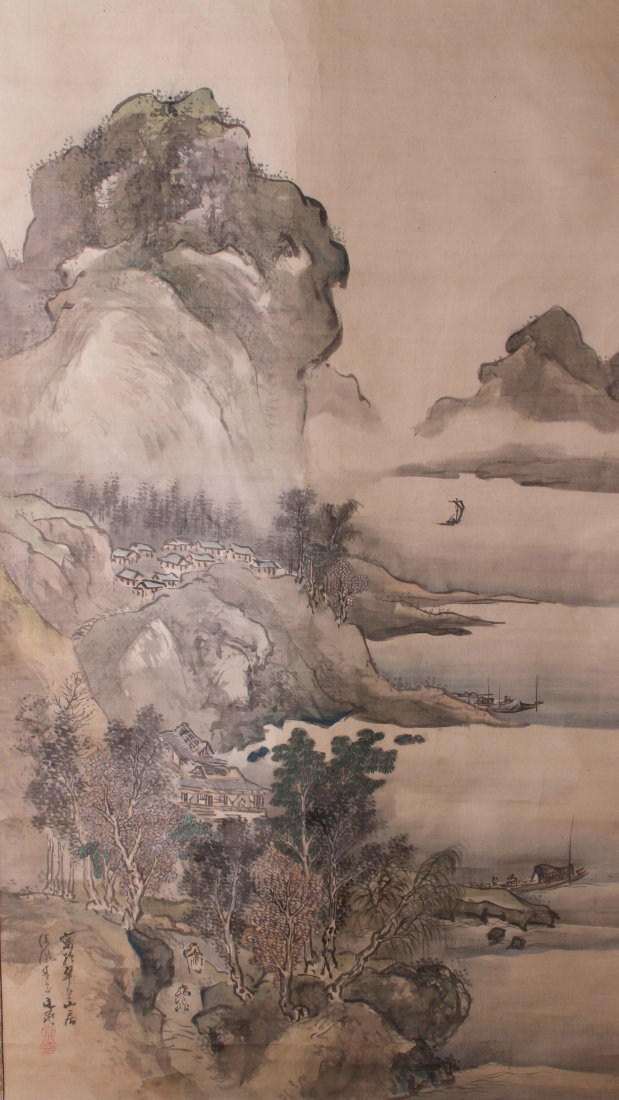 Fine Japanese Painting by Tani Buncho (1763-1841)