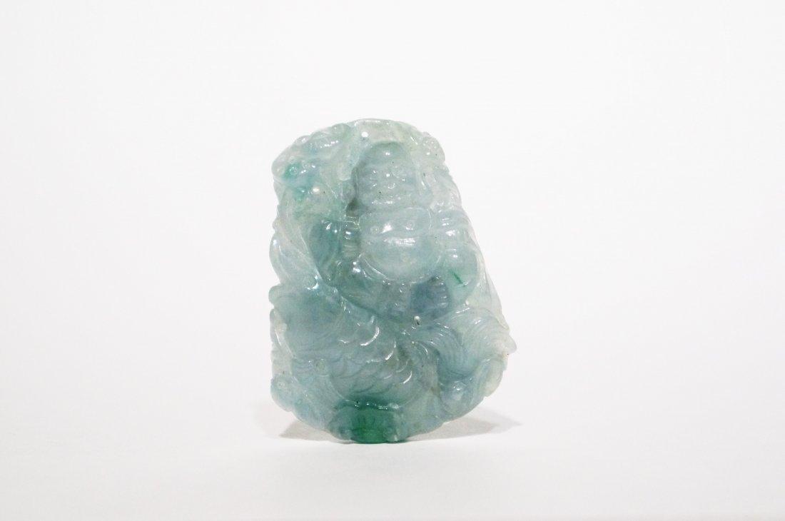 Translucent White Jade Pendant