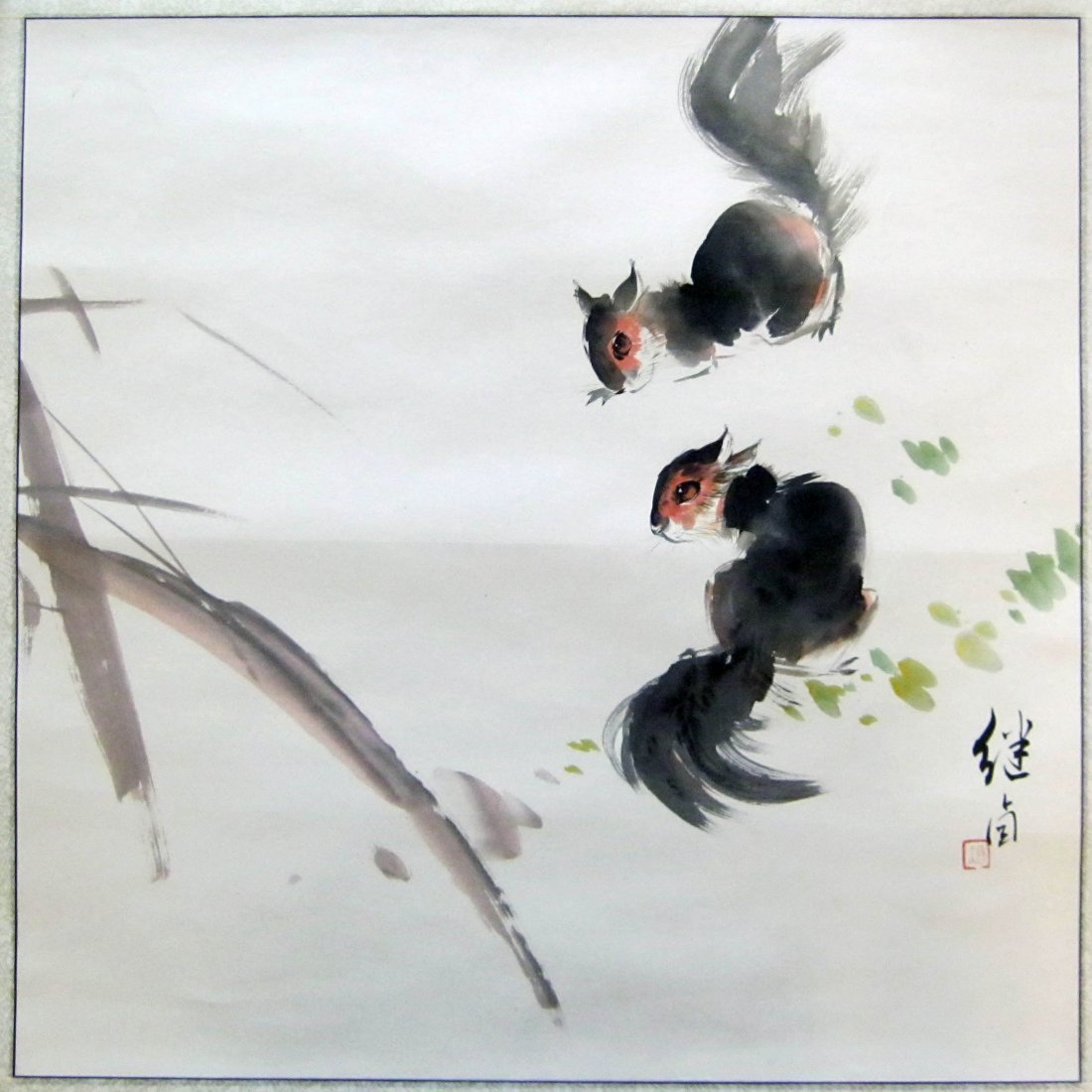 Chinese Ink Painting, Signed Liu Jiyou (1918-1983)