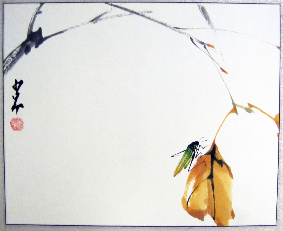 Three Paintings, Signed Zhao Shao'ang (1905-1998)