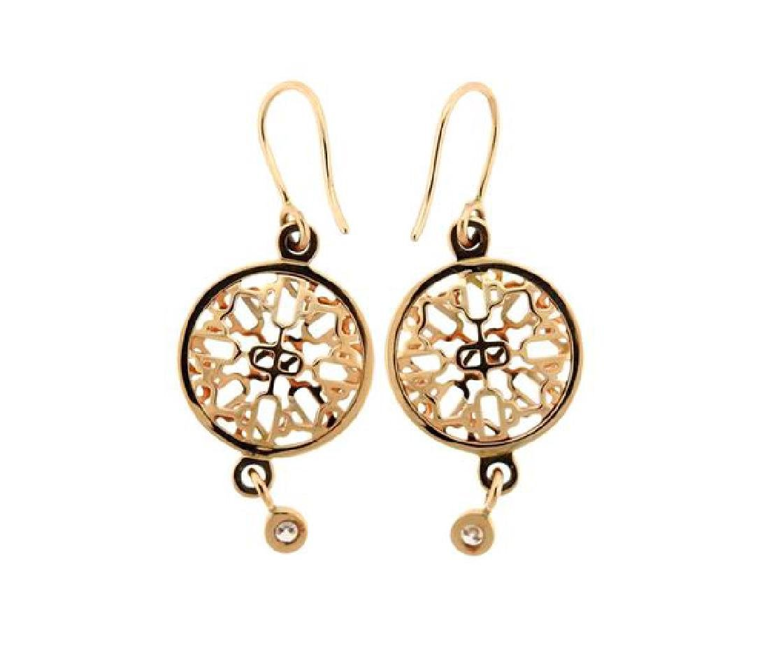 Hermes Chain D'Ancre Passerelle 18k Gold Diamond - 2