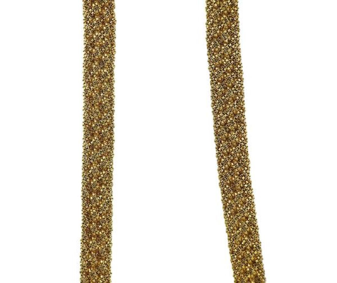 Yuri Ichihashi 18k Gold Hand Woven Rope Necklace - 3