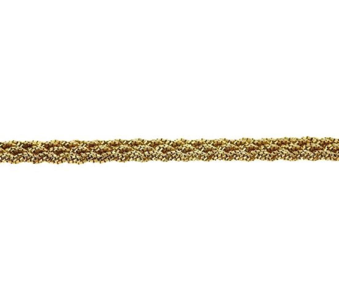 Yuri Ichihashi 18k Gold Hand Woven Rope Necklace - 4