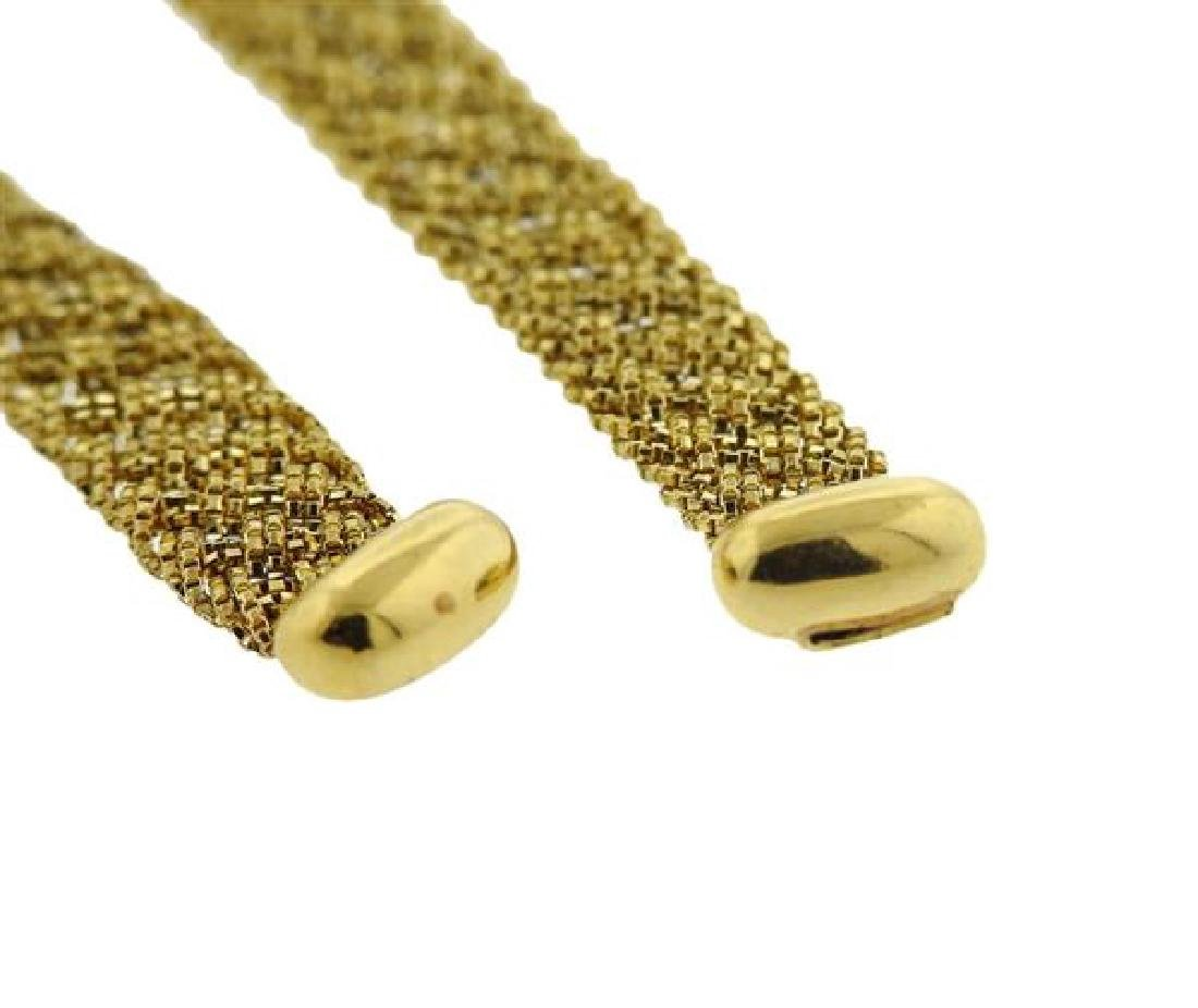 Yuri Ichihashi 18k Gold Hand Woven Rope Necklace - 5
