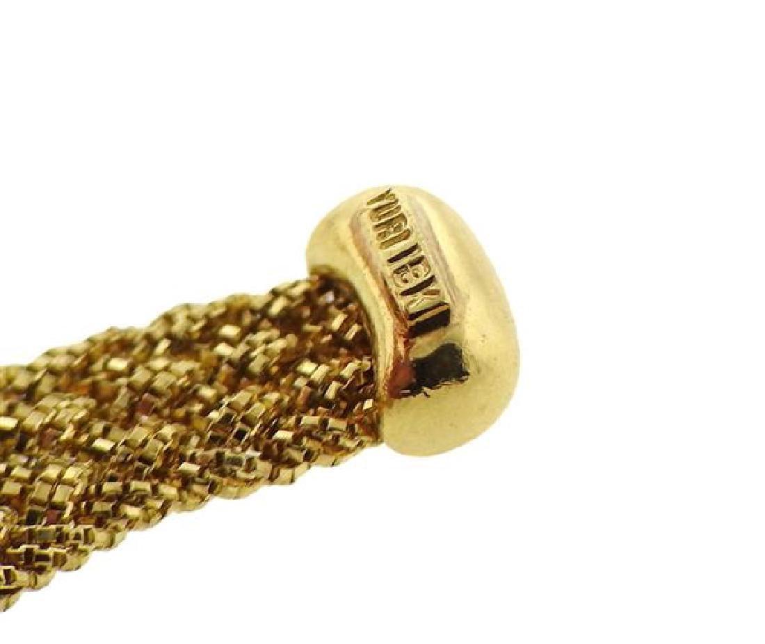 Yuri Ichihashi 18k Gold Hand Woven Rope Necklace - 6