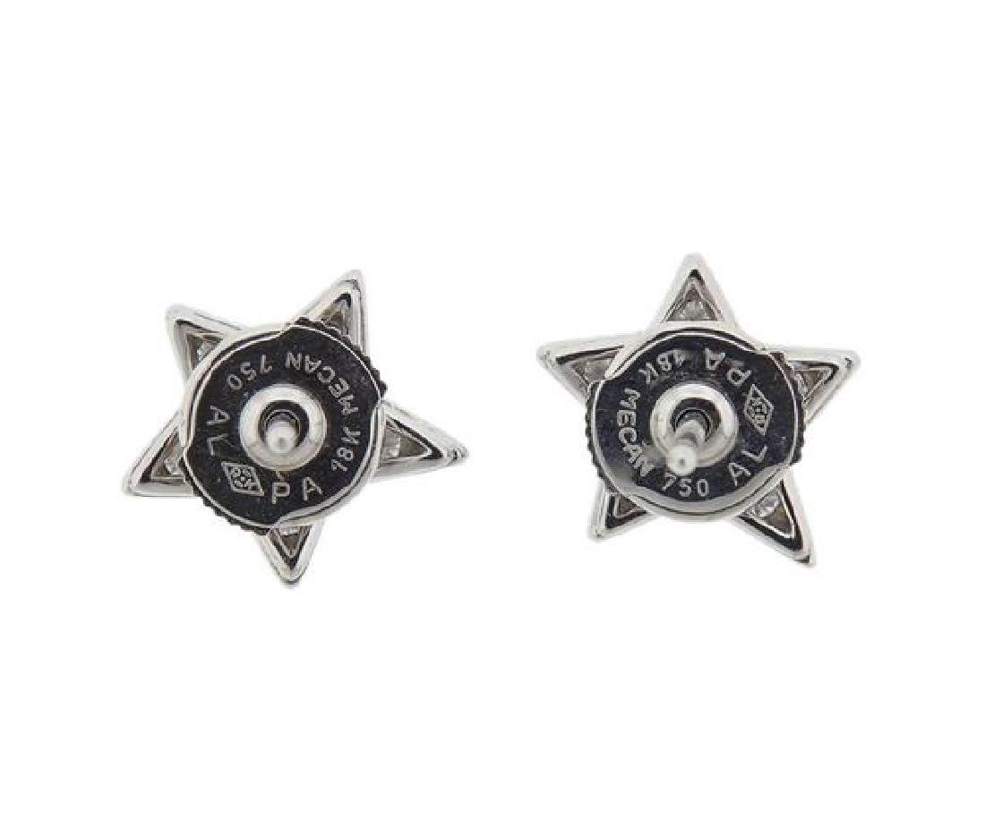 Chanel Comete Star 18k Gold Diamond Earrings - 3