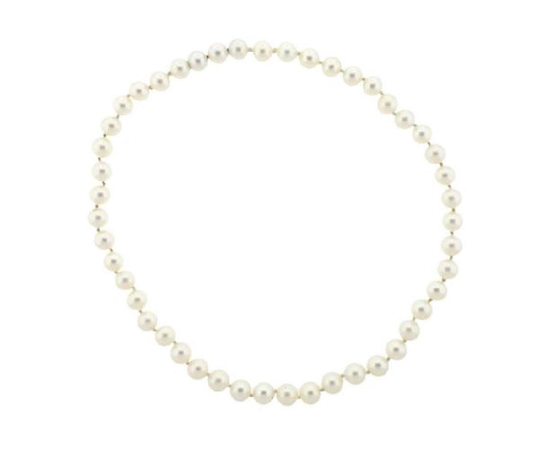 7.5mm 7.8mm Pearl Necklace