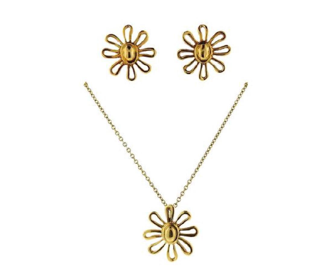 Tiffany & Co. Paloma Picasso 18K Gold Daisy