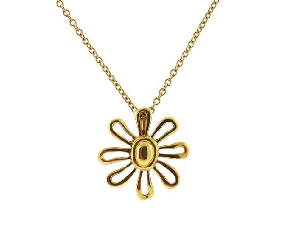 Tiffany & Co. Paloma Picasso 18K Gold Daisy - 2