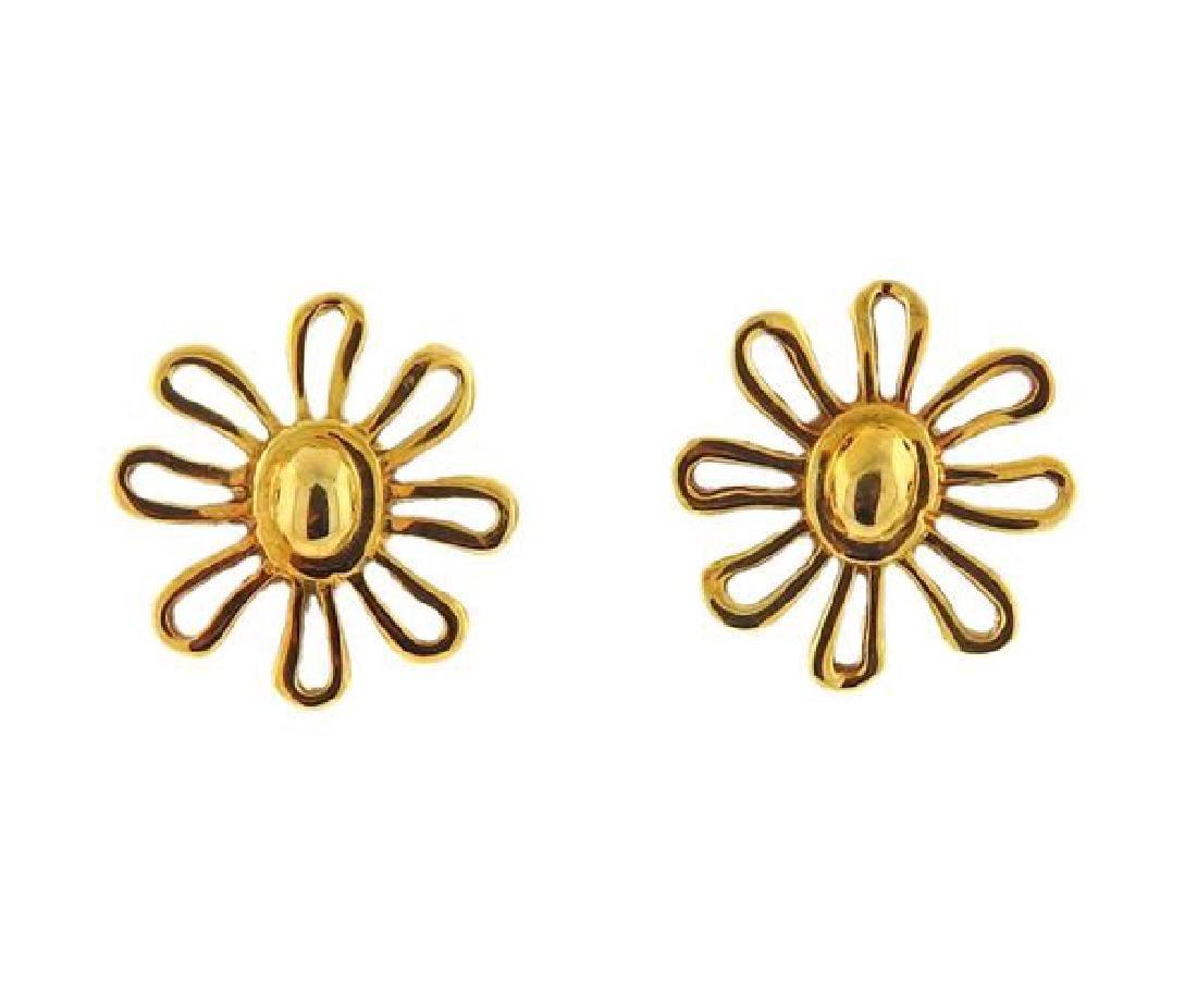 Tiffany & Co. Paloma Picasso 18K Gold Daisy - 5