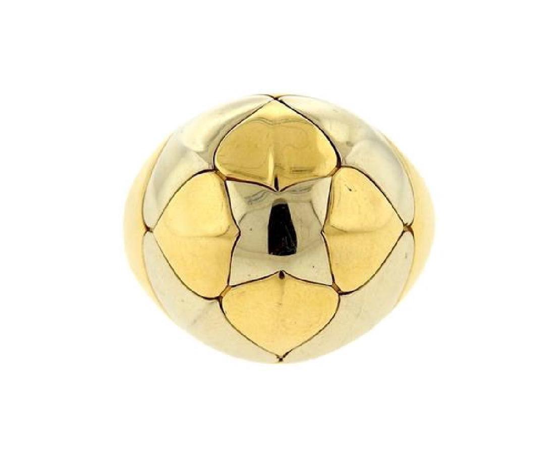 Bvlgari Bulgari Pyramid 18K Gold Ring