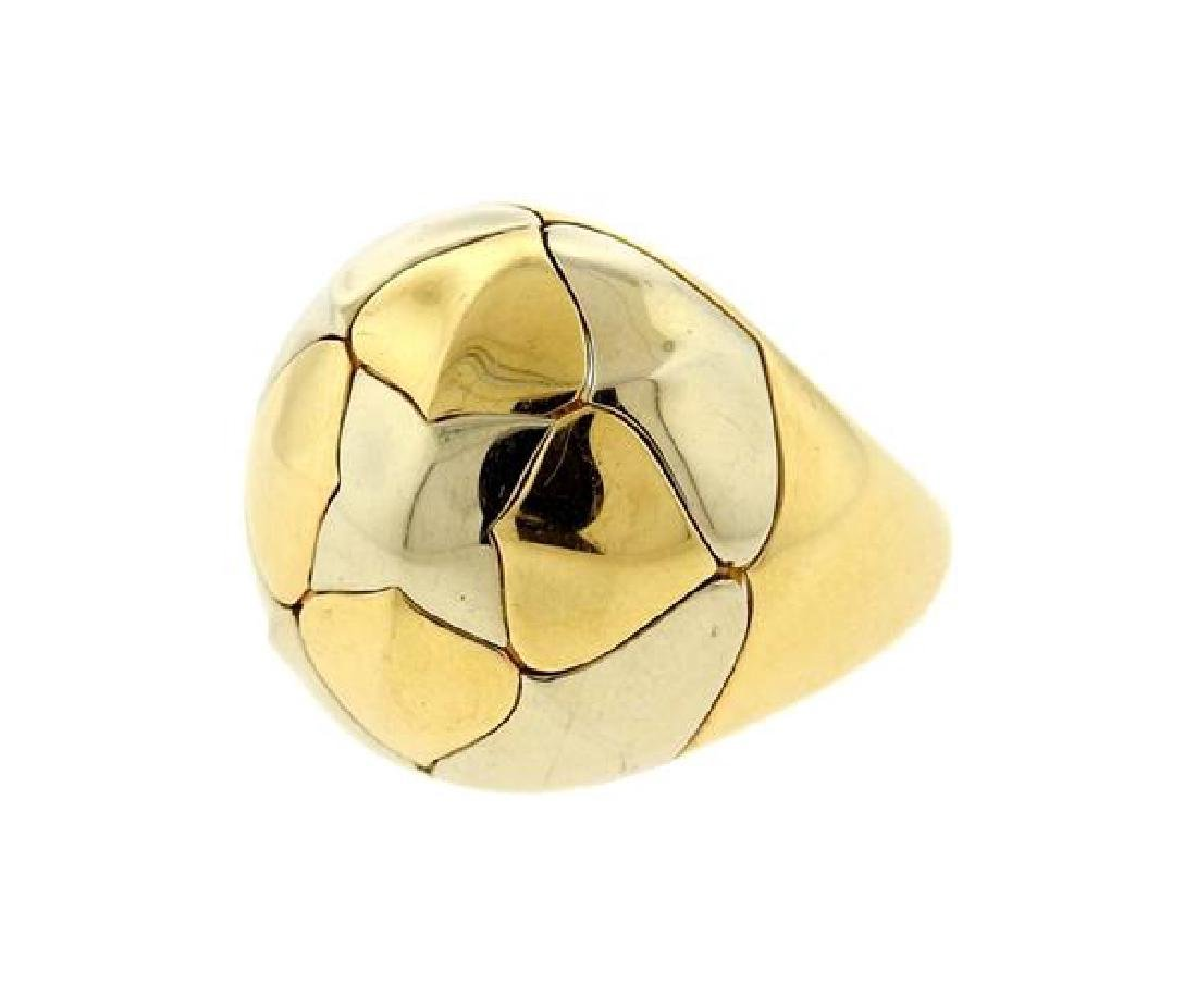 Bvlgari Bulgari Pyramid 18K Gold Ring - 2