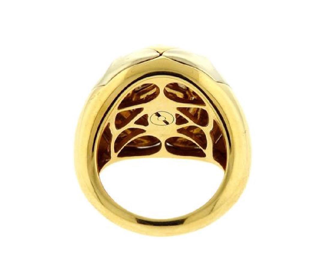 Bvlgari Bulgari Pyramid 18K Gold Ring - 3