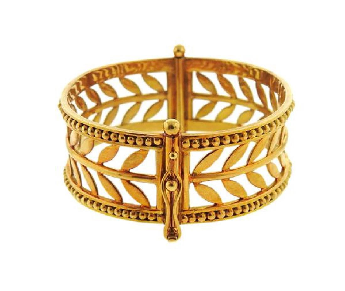 Temple St. Clair Granulated Vine Cesere Oliva 18k Gold - 2