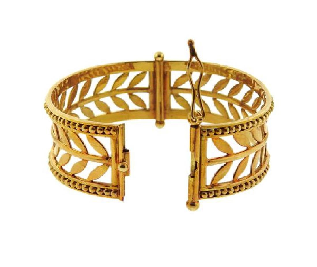 Temple St. Clair Granulated Vine Cesere Oliva 18k Gold - 4