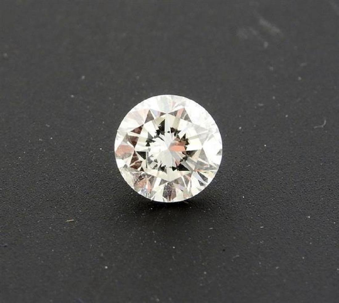 GIA Cert 1.01ct I I1 Round Brilliant Loose Diamond - 3