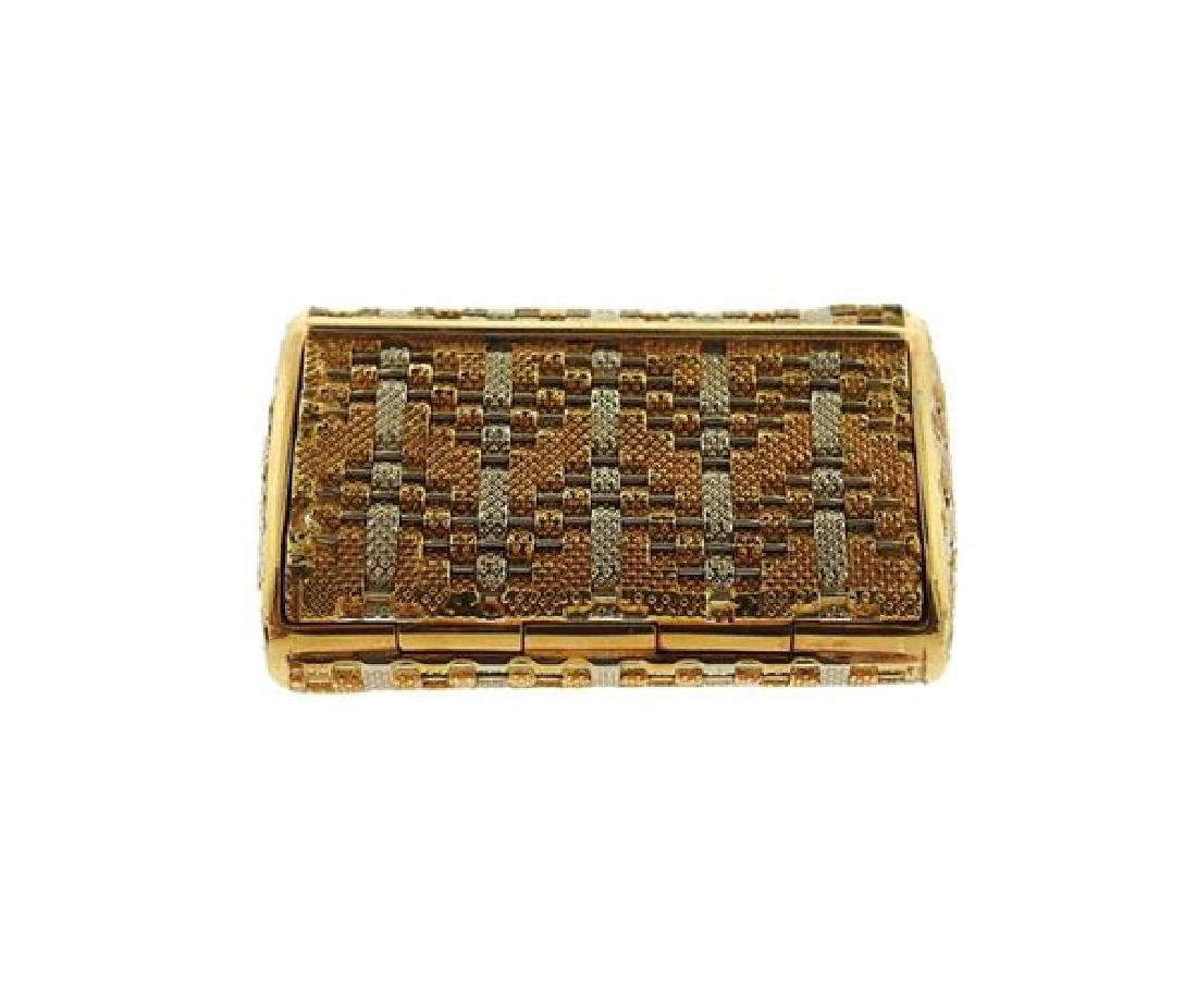 18k Gold Pill Box - 3