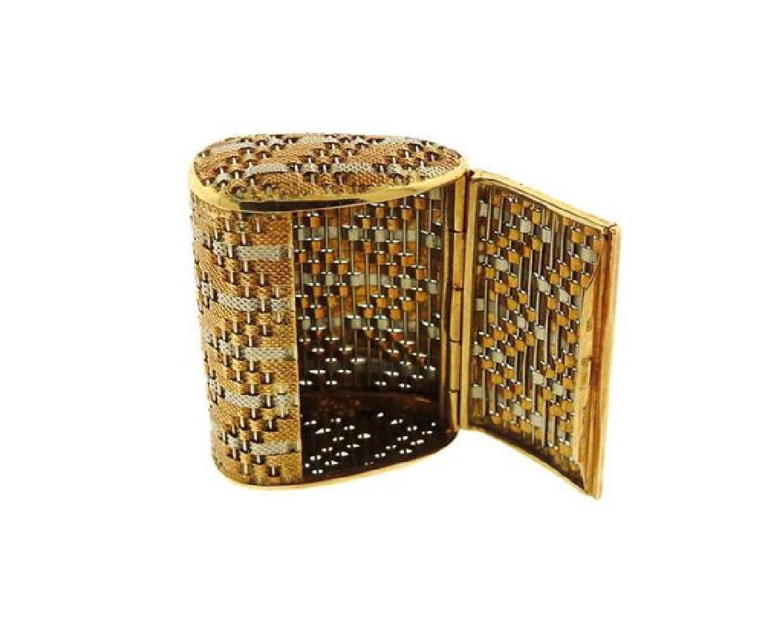18k Gold Pill Box - 4