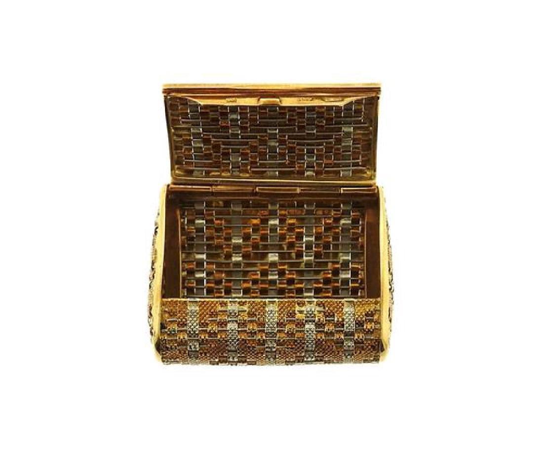 18k Gold Pill Box - 5