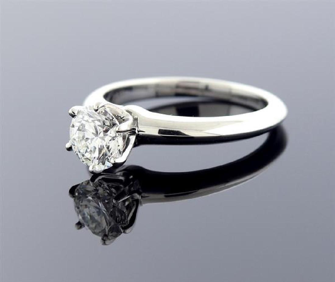 Tiffany & Co 1.03ct H SI1 Diamond Platinum - 2
