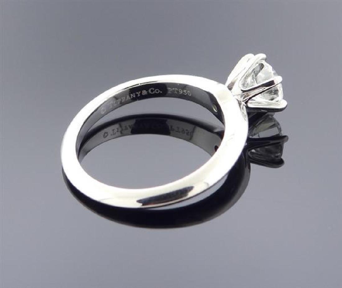 Tiffany & Co 1.03ct H SI1 Diamond Platinum - 4