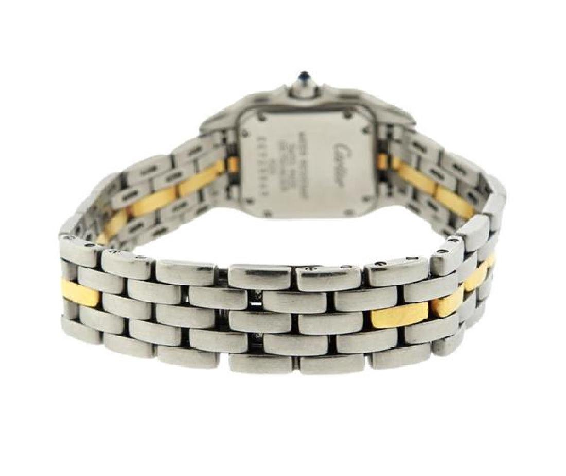 Cartier Panthere 18k Gold Steel Watch - 2