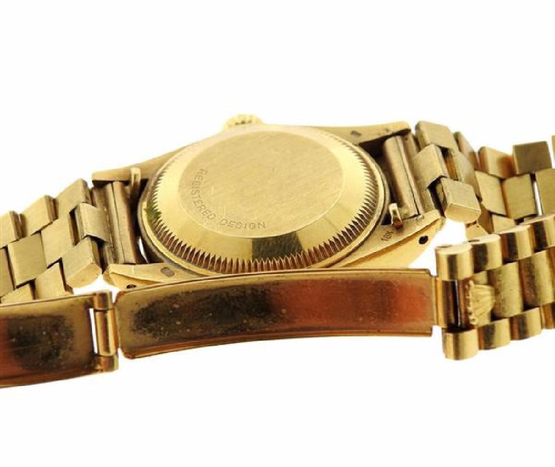 Rolex President 18k Gold Malachite Dial Watch 6917 - 4
