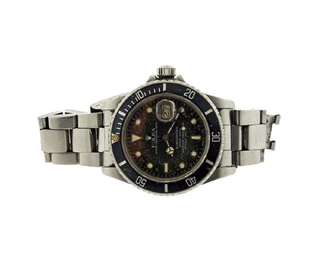 Rolex Submariner Stainless Steel Watch 16800