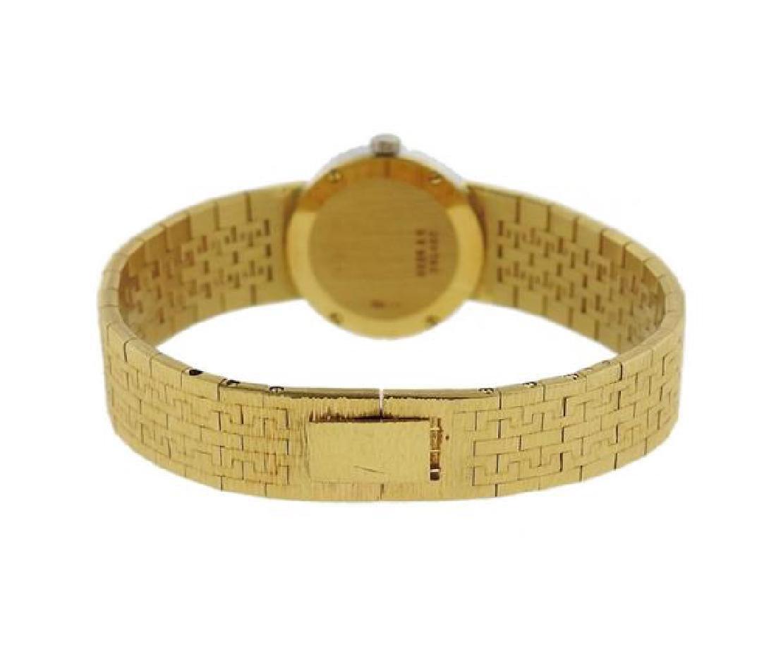 Piaget 18k Gold Diamond Dial Watch - 2