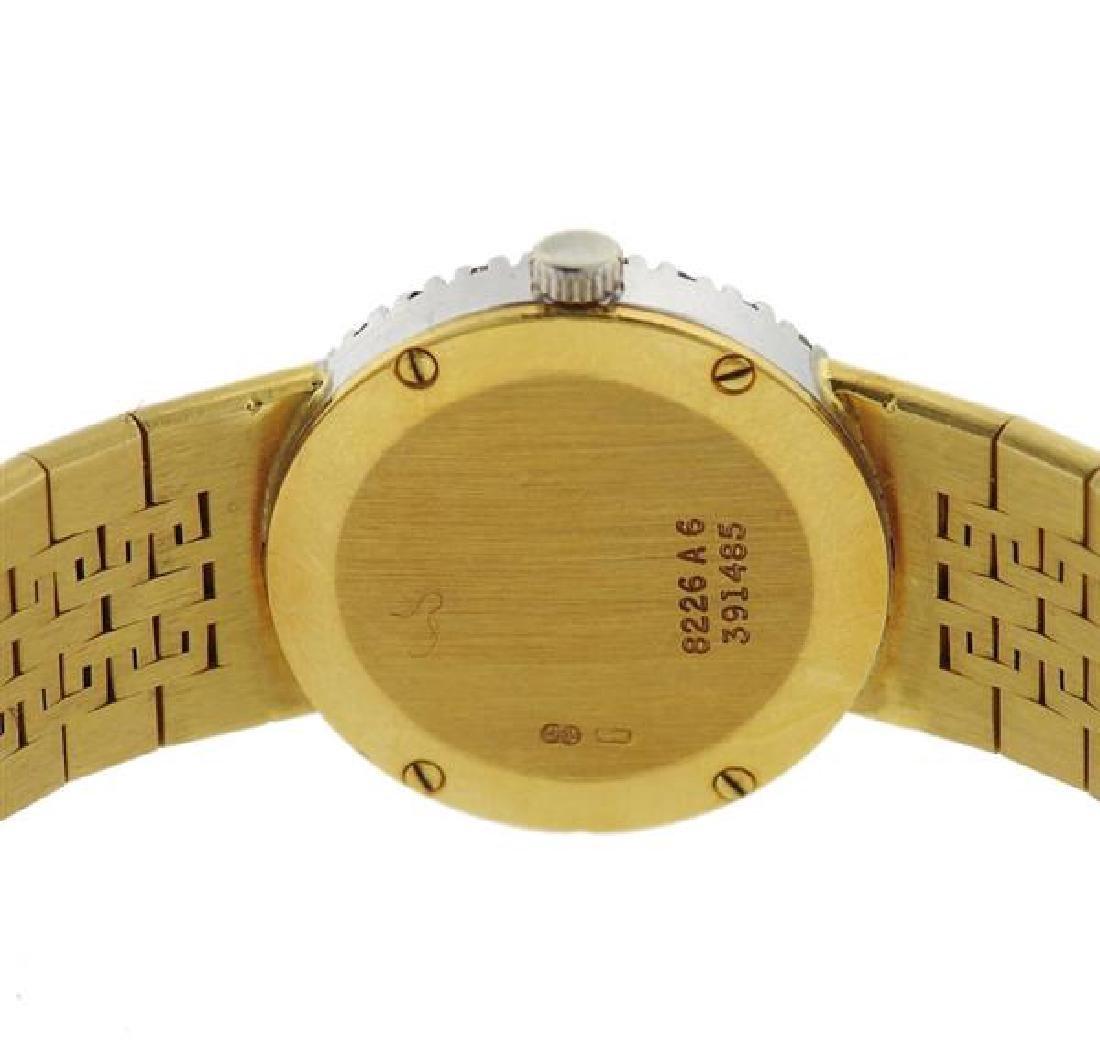 Piaget 18k Gold Diamond Dial Watch - 3