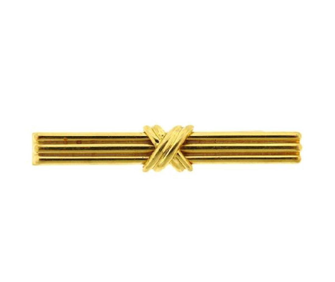 Tiffany & Co Signature X Collection 18K Gold Money