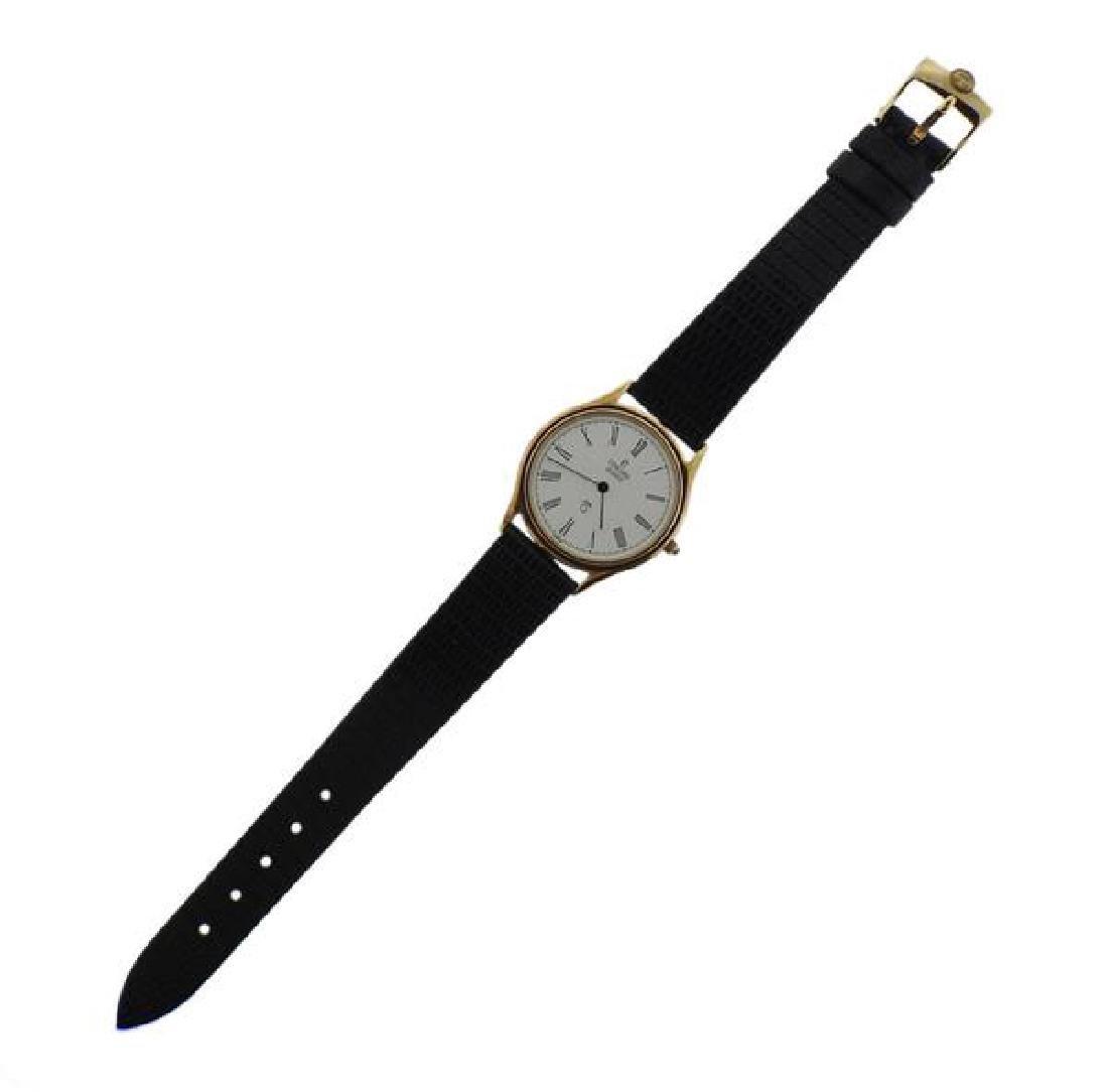 Concord 14k Gold Quartz Nine Q Mariner Watch