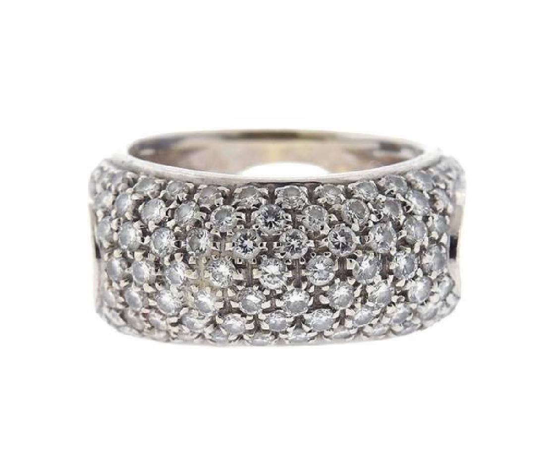 Damiani 18k Gold Diamond Ring