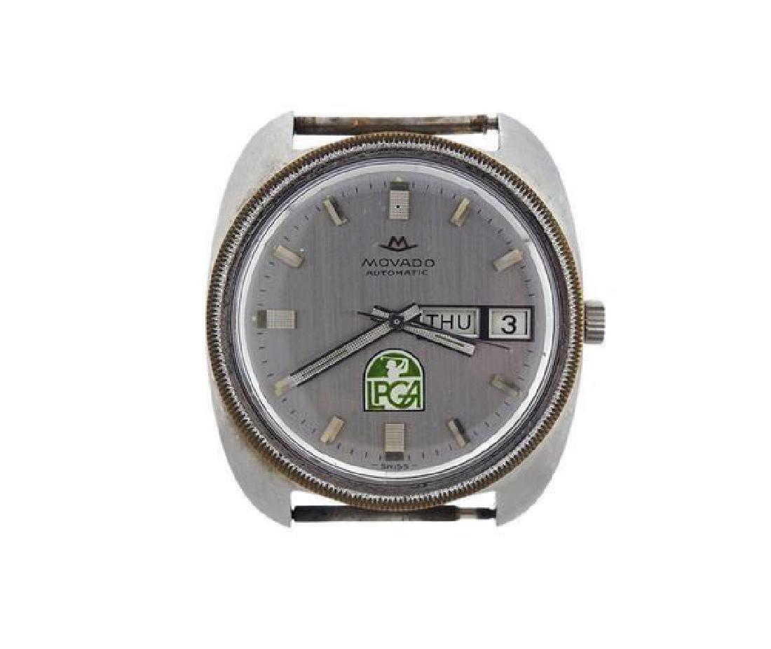 1970s Movado Sub Sea Automatic Watch