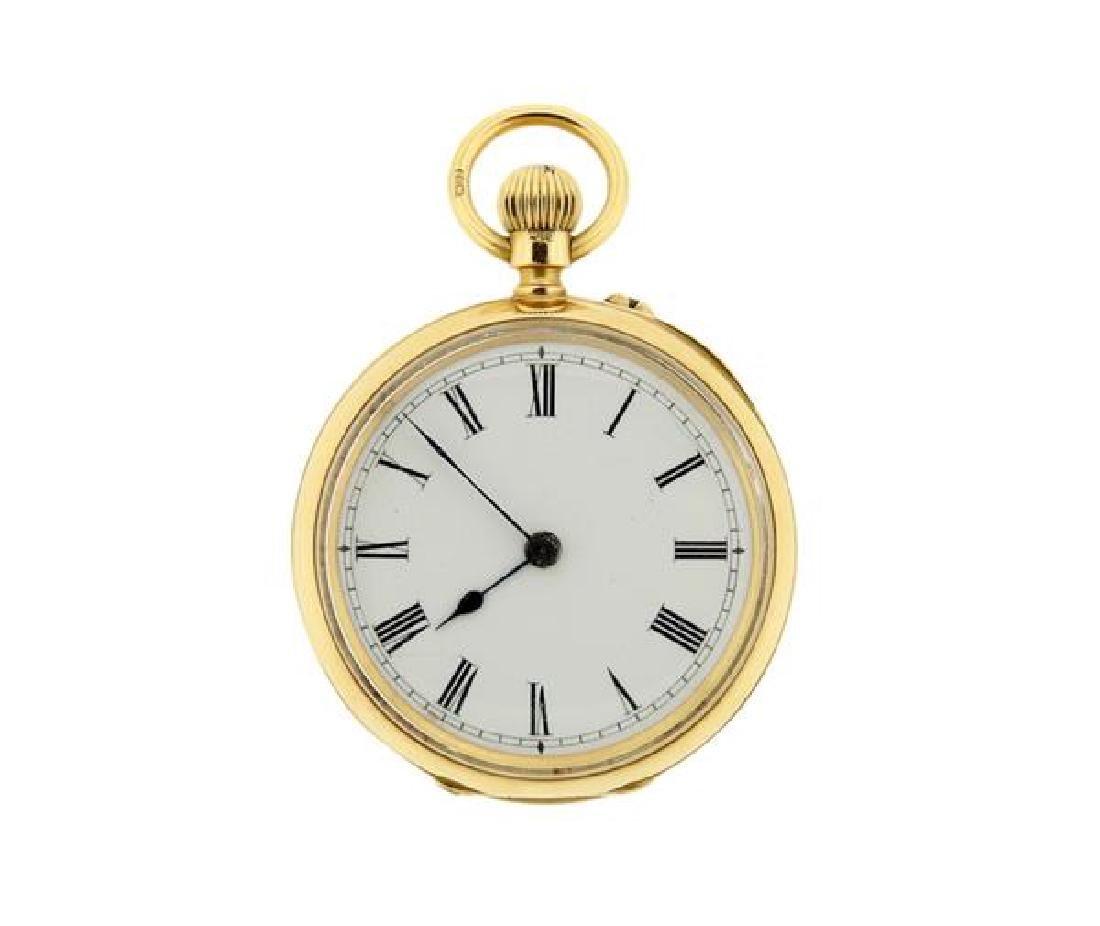 John Newlands 18k Gold Pocket Watch