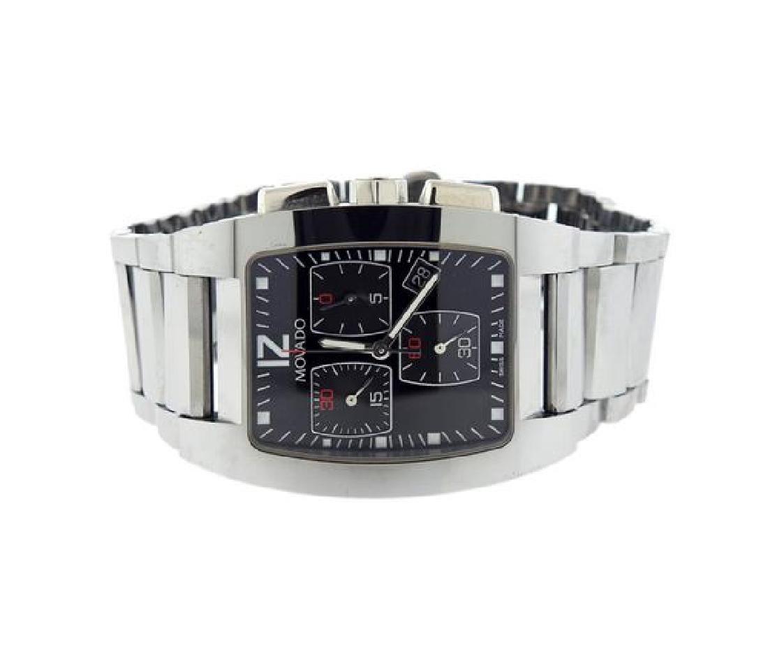 Movado Fiero Chronograph Steel Watch 89 H1 1453
