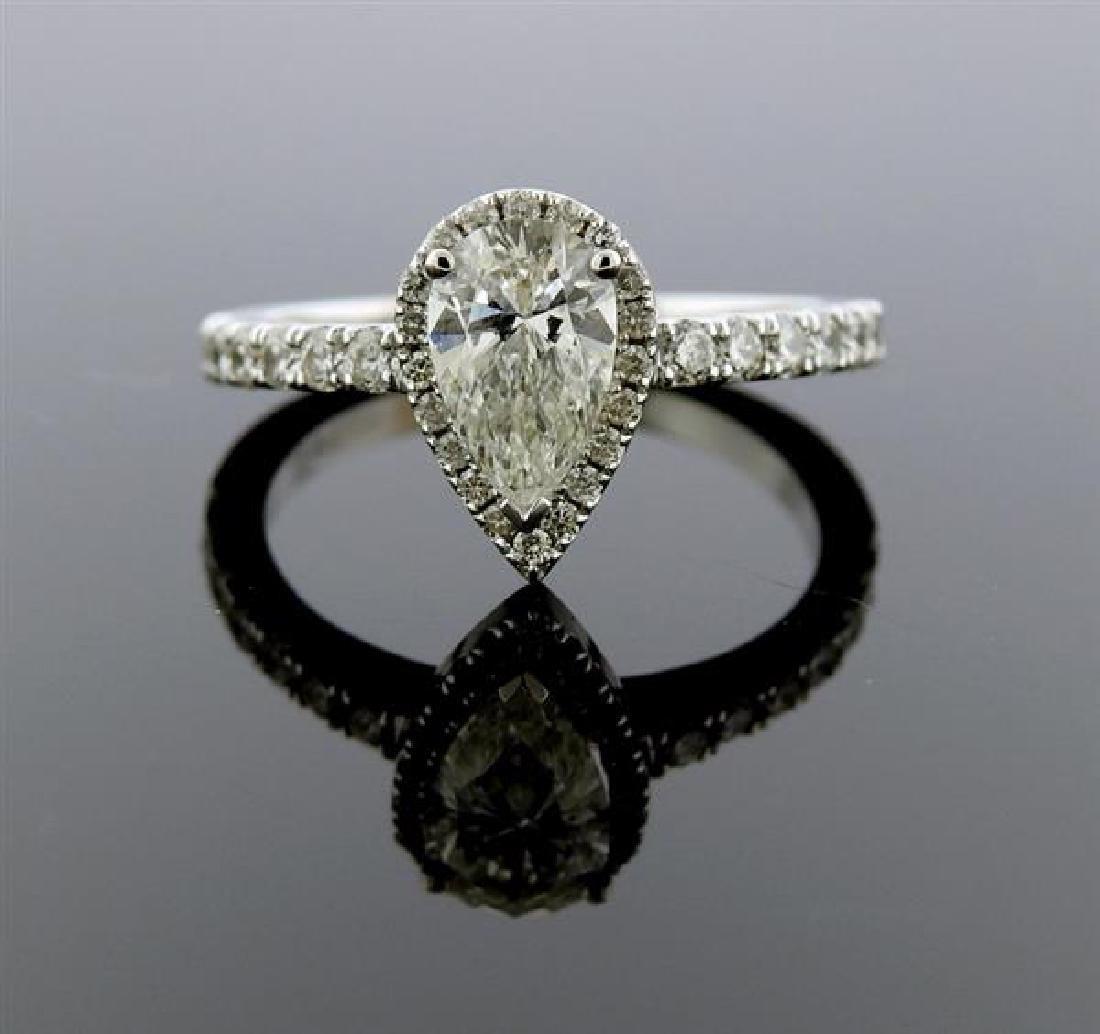 GIA 1.00ct G SI1 Diamond 14k Gold Engagement Ring