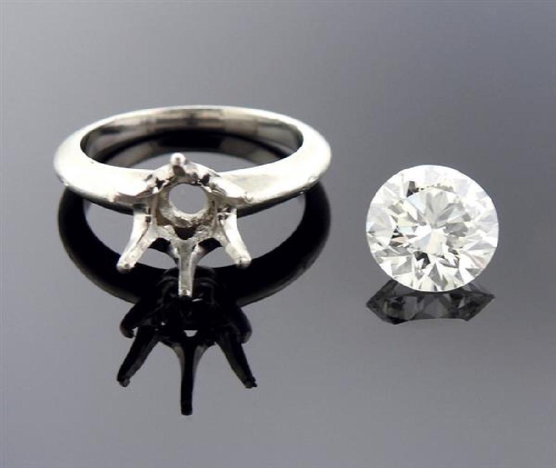 Tiffany & Co GIA 2.37ct I VS1 Diamond Engagement