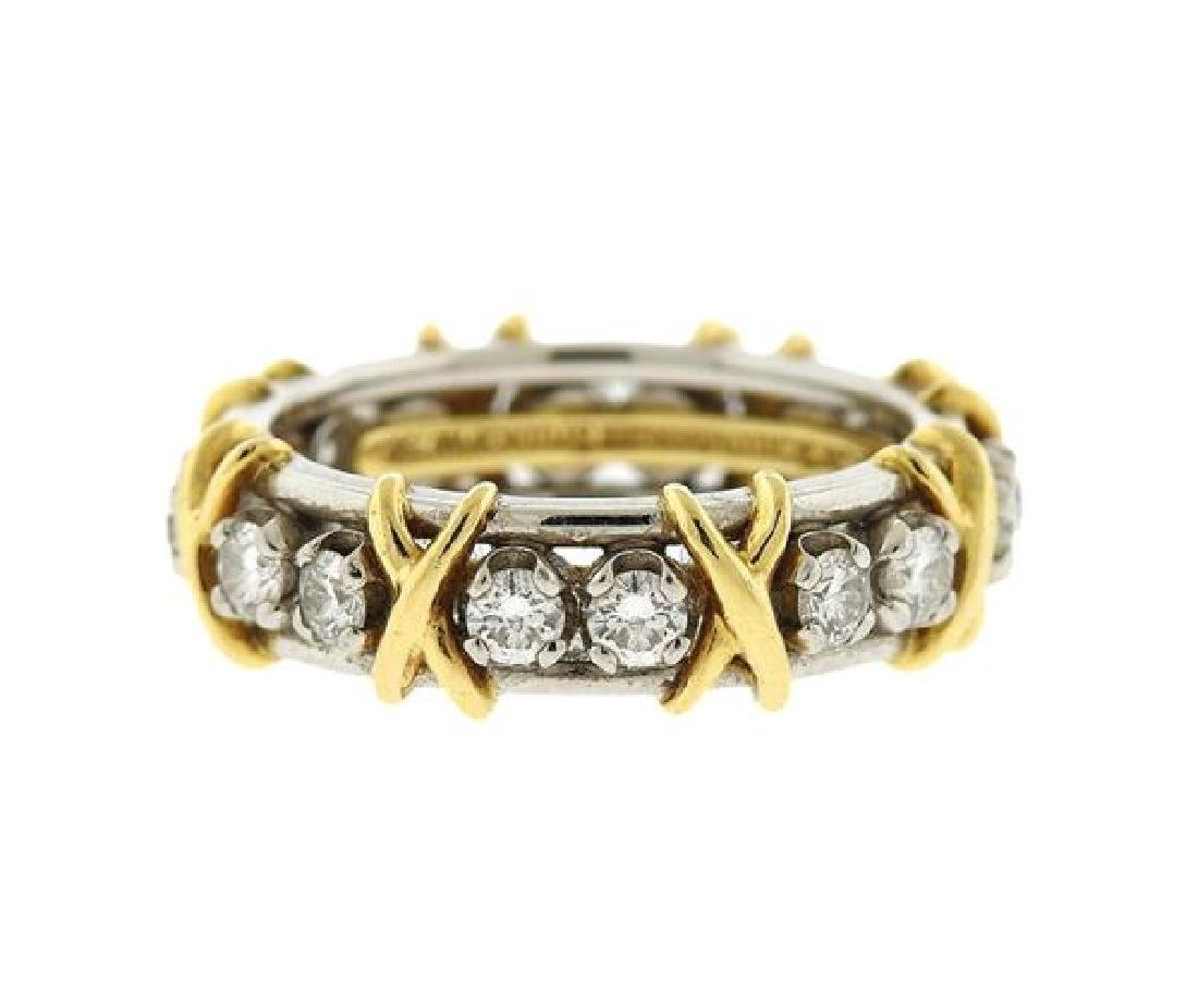 Tiffany & Co Schlumberger Platinum Gold Diamond