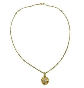 Seidengang 18k Gold Diamond Pendant Necklace