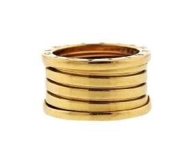 Bulgari Bvlgari B.zero 1 18k Gold Wide Band Ring