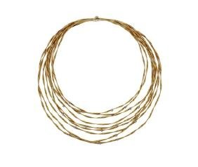 Marco Bicego Marrakech 18k Gold Diamond Necklace